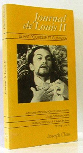 Journal de louis II [Paperback] [Jan 01,: marin louis