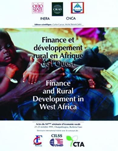 Finance et developpement rural en afrique de l'ouest. finance and rural development in west ...