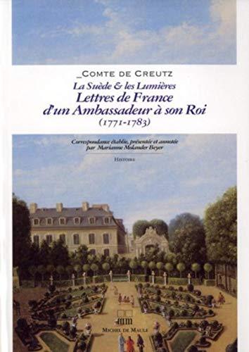 9782876233256: lettres de France d'un ambassadeur à son roi 1771-1783