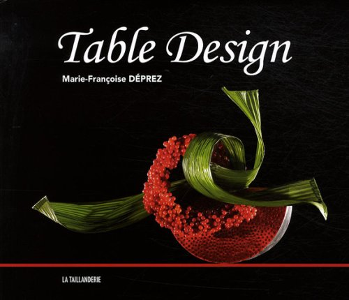 9782876293946: Table Design : Edition trilingue en français-anglais-allemand