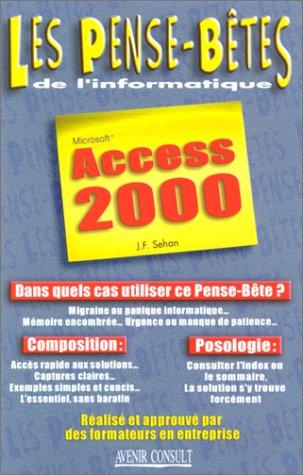 9782876382619: Access 2000