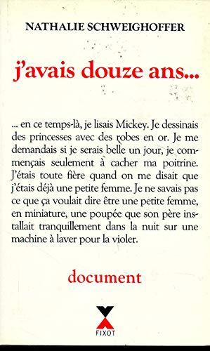 J'avais douze ans--: Marie-Thérèse Cuny; Nathalie