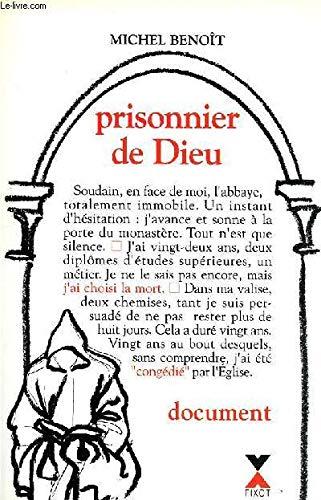 9782876451353: Prisonnier de Dieu