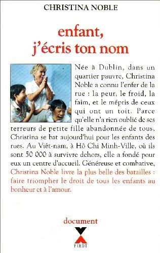 9782876452312: Enfant j'ecris ton nom (French Edition)