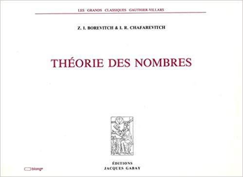 9782876471498: theorie des nombres