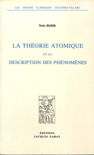 9782876471535: La théorie atomique et la description des phénomènes