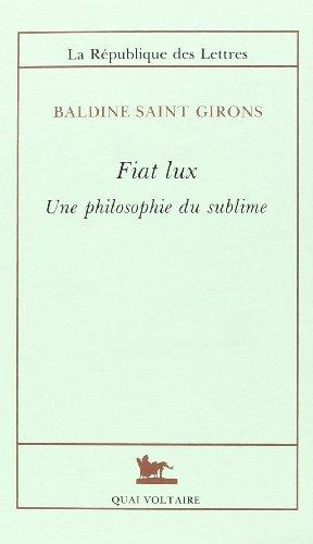 Fiat lux [Dec 01, 1993] Saint Girons, Baldine