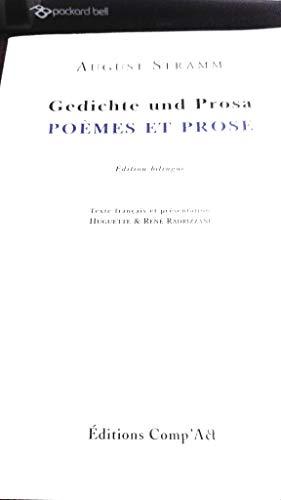 9782876612273: Po�mes en prose : Gedichte und Prosa