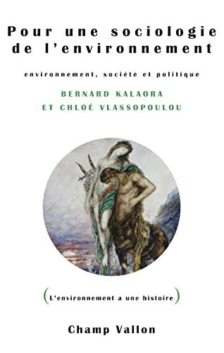 9782876739161: Pour une sociologie de l'environnement : Environnement, société et politique