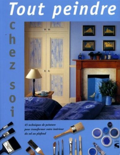 9782876773073: Tout peindre chez soi : 45 effets pour transformer votre d�cor du sol au plafond