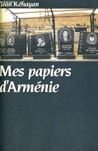 9782876780453: Mes papiers d'Armenie (Collection Regards croises) (French Edition)