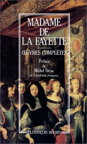 OEuvres completes (French Edition): La Fayette