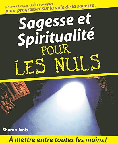 9782876917699: Sagesse et Spiritualité Pour les Nuls