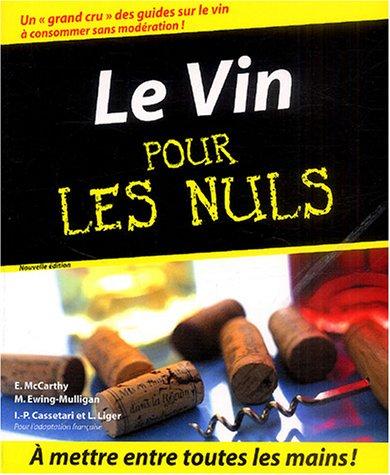 9782876919433: Le Vin pour les nuls