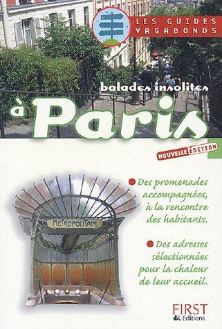 9782876919877: Balades insolites à Paris