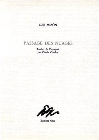 Passage des nuages [Apr 01, 1986] Mizon, Luis