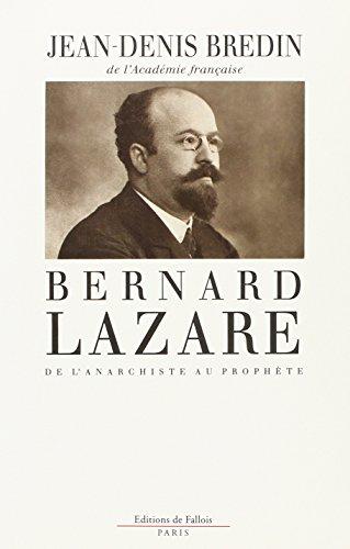9782877061469: Bernard Lazare