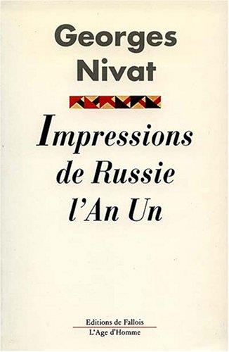 Impressions de Russie l'an I : Crimée,: Georges Nivat