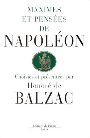 9782877063616: Maximes et pensées de Napoléon