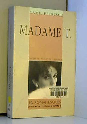 9782877110266: Madame T.