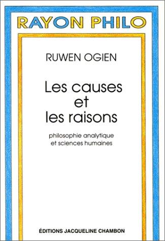 CAUSES ET LES RAISONS (LES): OGIEN RUWEN