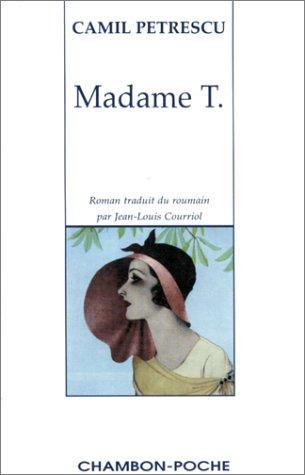 9782877111638: Madame T.