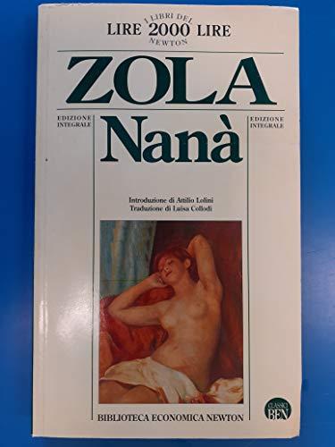Nana [French]: Emile-zola