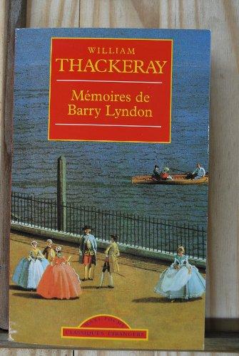 Memoires de Barry Lyndon: Thackeray
