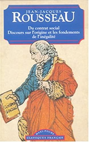 9782877143431: Du Contrat Social (Classiques Francais) (French Edition)