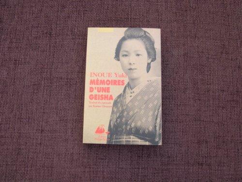 9782877301633: Mémoires d'une geisha