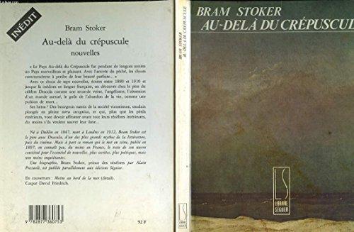 Au-delà du crépuscule: Bram Stoker