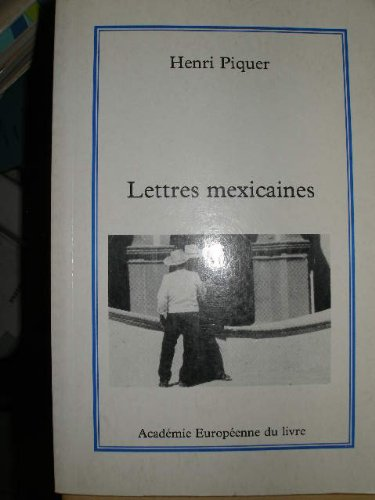 9782877394079: LETTRES MEXICAINES