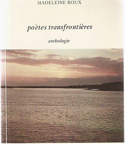 9782877440318: Poètes transfrontières: Anthologie