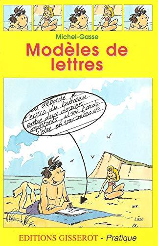9782877476522: Modeles de lettres