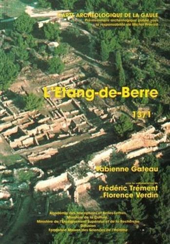 Carte archéologique de la Gaule --------- 13 ( 1ère partie ) ETANG DE BERRE: GATEAU (...