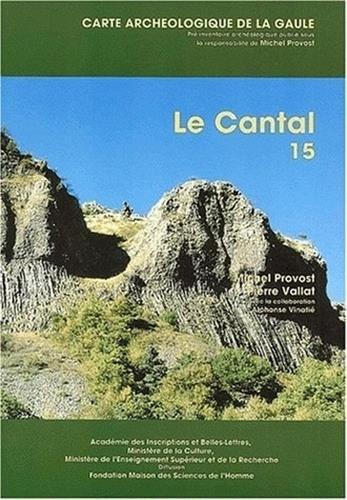 9782877540438: Carte arch�ologique de la Gaule. Le Cantal
