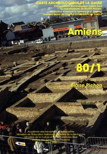 Carte archéologique de la Gaule. Amiens. 80/1. Pré-inventaire arché...