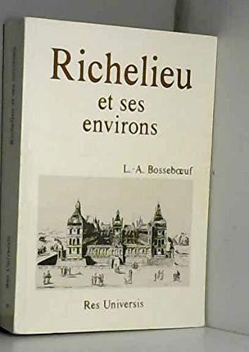 9782877605397: Richelieu (Histoire de) et Ses Environs