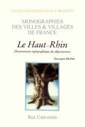 9782877609524: Haut-Rhin (Département du)