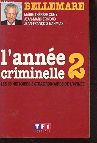 9782877610506: L'année criminelle 2