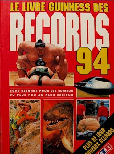 9782877610537: Le livre guinness des records 94