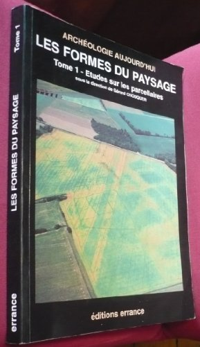 9782877721219: Les formes des paysages (Archeologie aujourd'hui) (French Edition)
