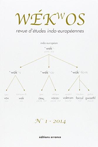 Wekwos N 1-2014: Romain Garnier, X. Delamarre