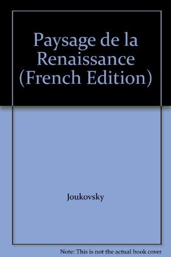 9782877751476: Paysage de la Renaissance