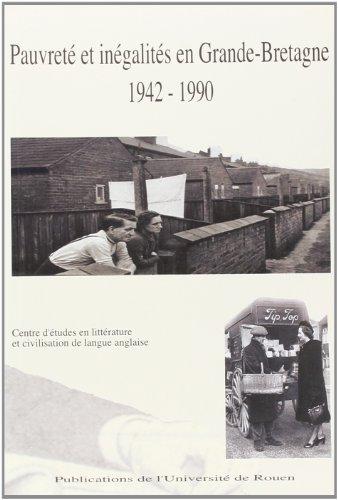 9782877753005: pauvrete et inegalites en grande-bretagne 1942-1990