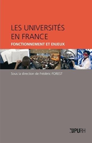 9782877755511: les universites en france. fonctionnement et enjeux
