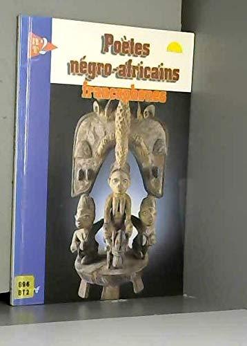 9782877854832: Po�tes n�gro-africains francophones