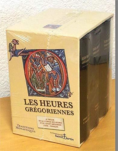 9782878100921: Les Heures gr�goriennes : 3 volumes. Edition bilingue fran�ais-latin