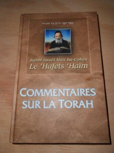 9782878220230: Commentaires sur la Torah