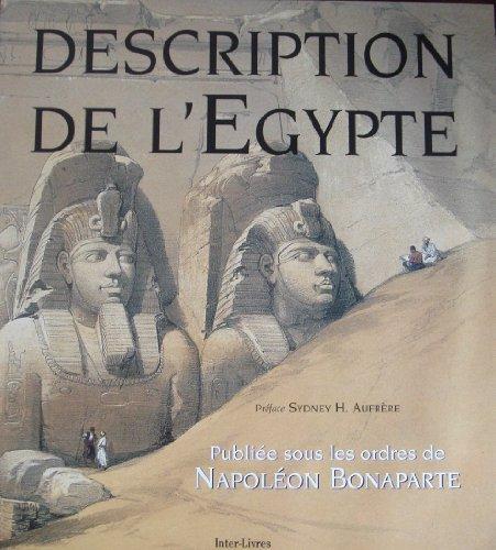 9782878300598: Description de l'egypte
